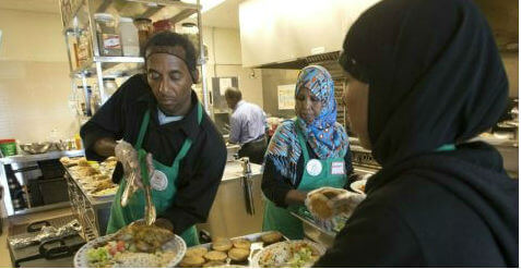Which Toronto Mosque Provide Free Food